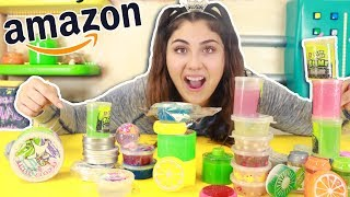 MIXING ALL MY STORE BOUGHT SLIMES FROM AMAZON   Slimeatory #341