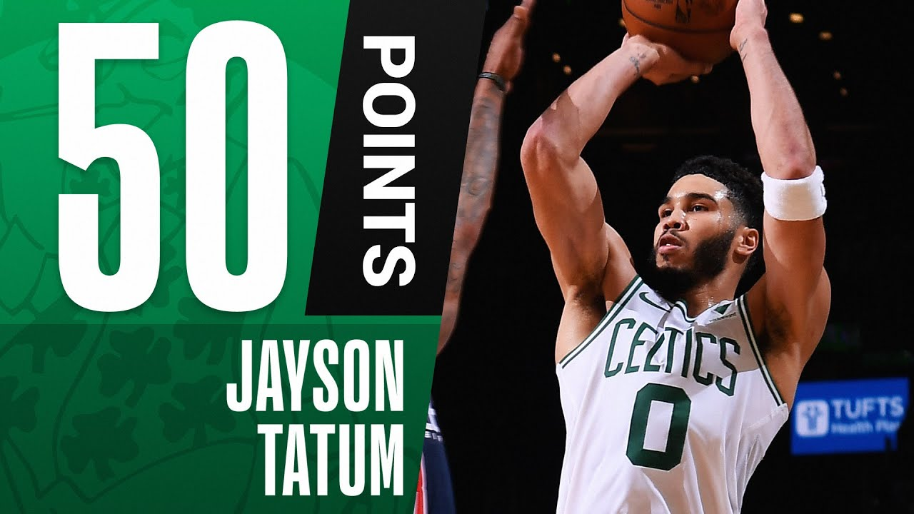 Download Jayson Tatum Goes OFF for 50 PTS in Win to Get In! 🔥