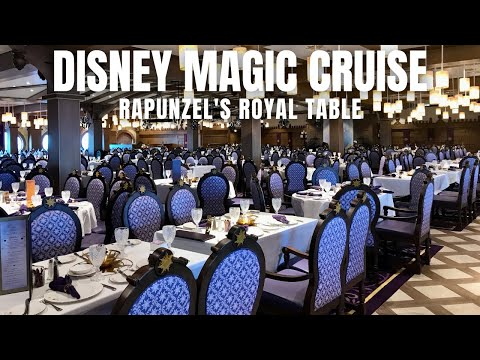 DINING REVIEW: Rapunzel's Royal Table | Disney Magic Cruise