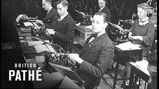 Typewriting Speed Contest (1938)