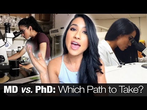 MD Vs. PhD   Which Path To Take? (Income, Stats & Personal Experience)
