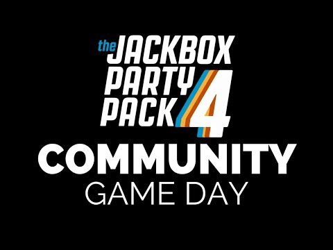 Community Game Day - Jack Box Party Pack 4