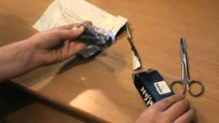 Нож бабочка тренировочный с Алиэкспресс