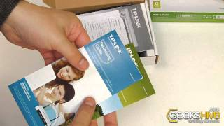 54Mbps Wireless G PCI Adapter TL-WN350GD TP-Link - Unboxing by www.geekshive.com