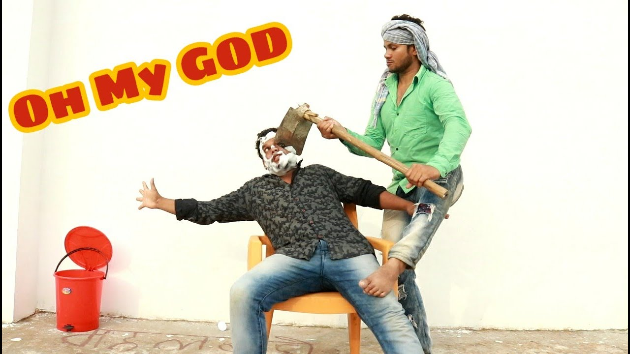 Oh My GOD Very Funny Video Full Entertainment   Bindas Fun Joke  