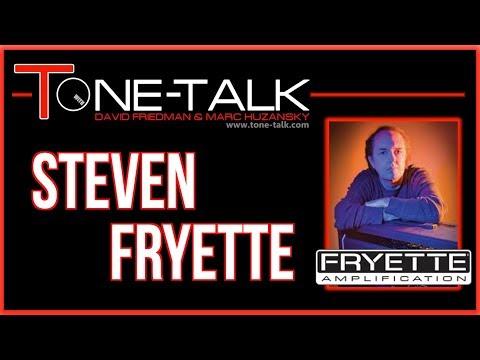 Ep. 3 - Steven Fryette of Fryette and Sound City Amps on Tone-Talk - (click