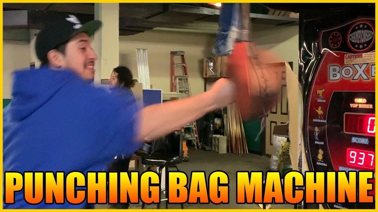 PUNCHING BAG MACHINE FAILS!!!