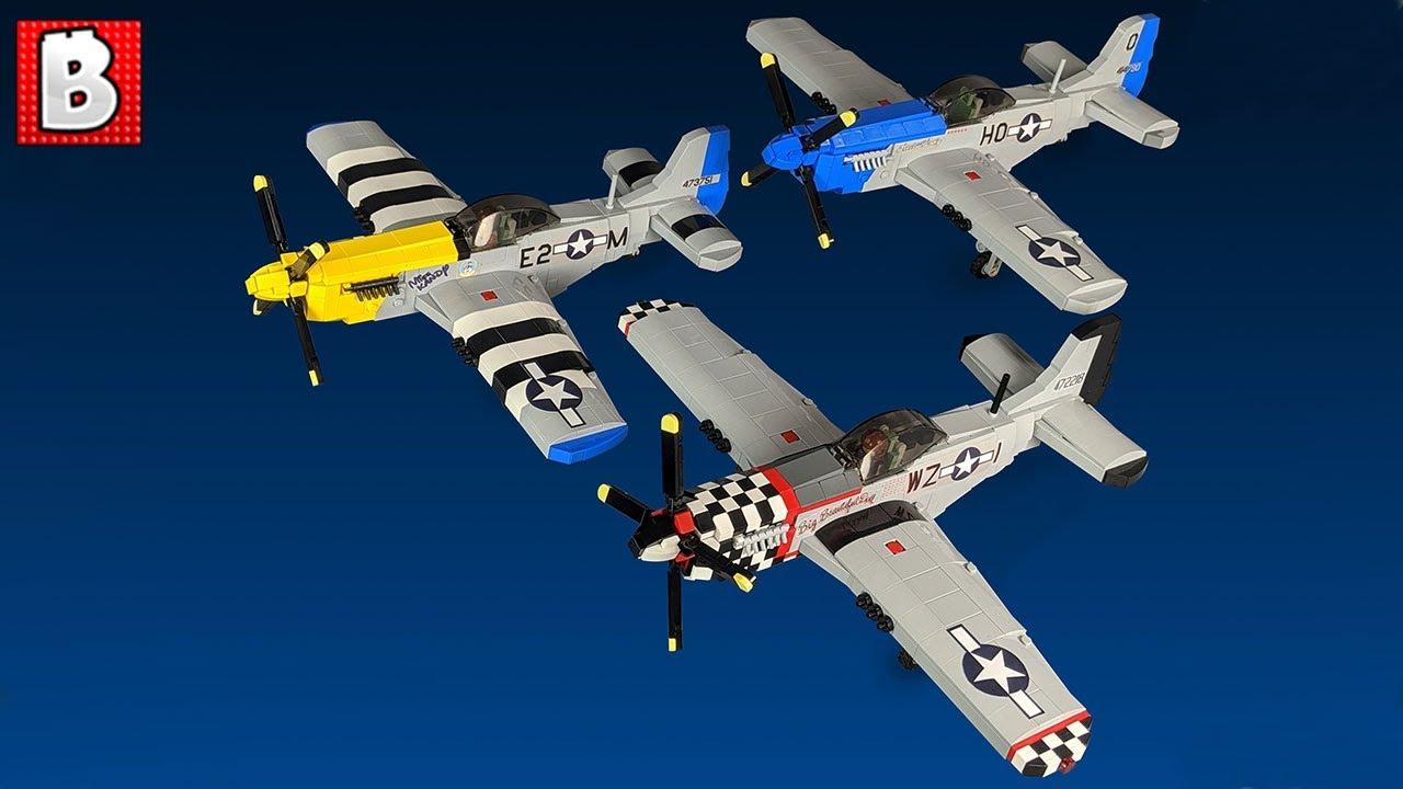 LEGO P-51 Mustang Custom Builds