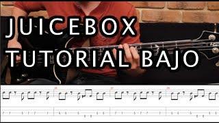 """Como tocar """"Juicebox"""" de The Strokes - Tutorial Bajo + TAB (HD) FÁCIL"""