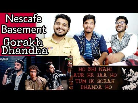 Indian Reaction On Gorakh Dhandha, Nescafe Basement Season 4.