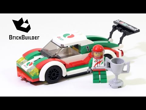 Lego City Race Car Lego Speed Build Youtube