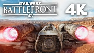 Star Wars Battlefront in 4K - STUNNING (Ultra Settings & 4k 60fps PC Gameplay)
