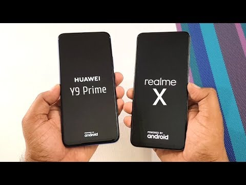Compare Speed Camera Huawei Y9 Prime 2019 with Realme X