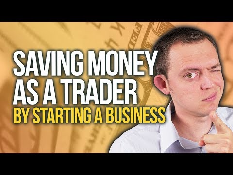 Saving Money on Stock Trading Expenses & Education by Starting a Business?