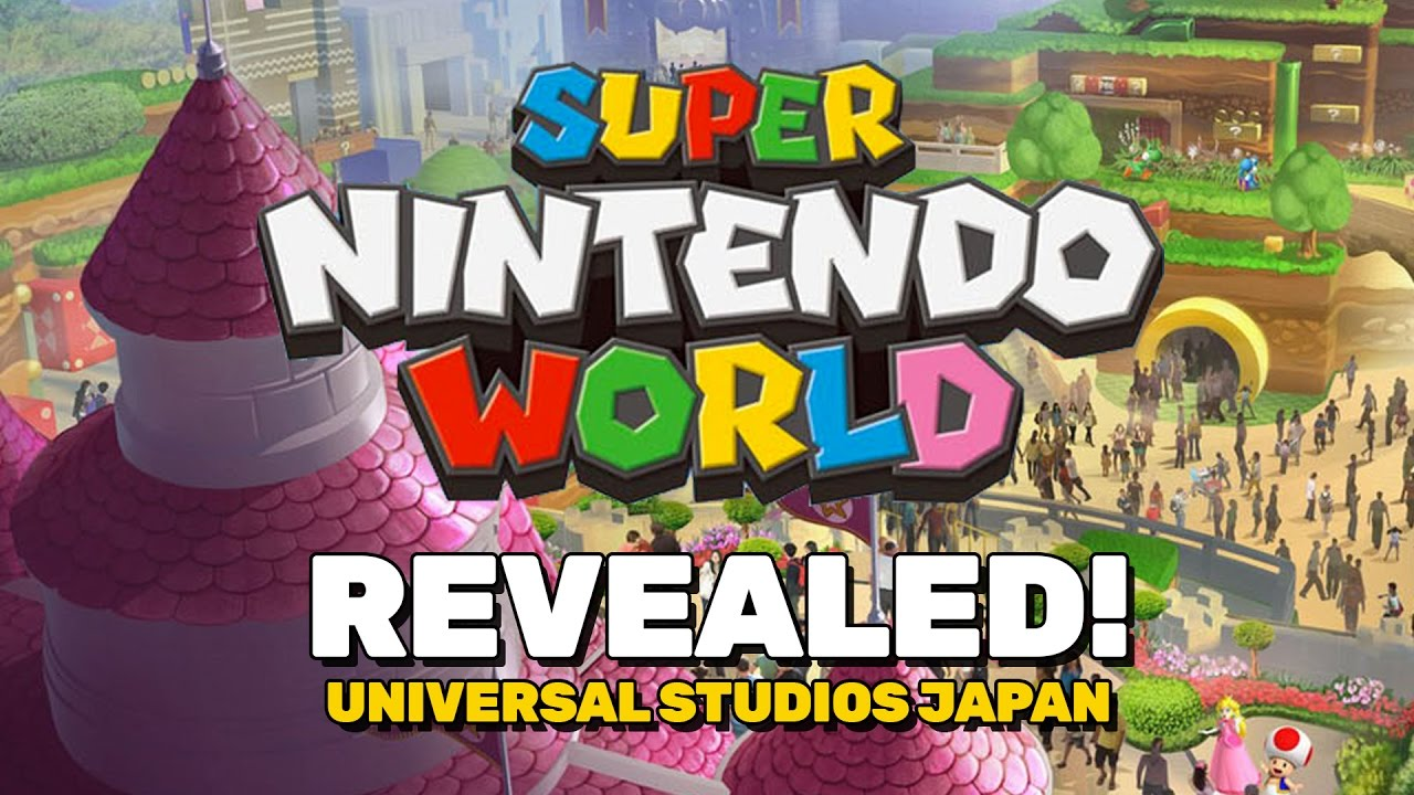 New super nintendo world revealed for universal japan youtube publicscrutiny Choice Image