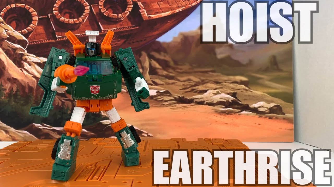 Transformers Earthrise Hoist Unboxing and Review by Enewtabie