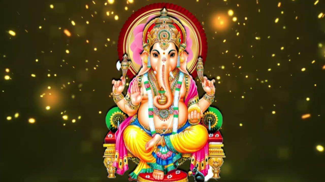 4k Wedding Starting God Animation Hd Lord Ganesha Background Animated Video Youtube