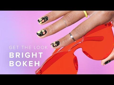 DIY Neon Paint Splatter Nail Art Tutorial thumbnail