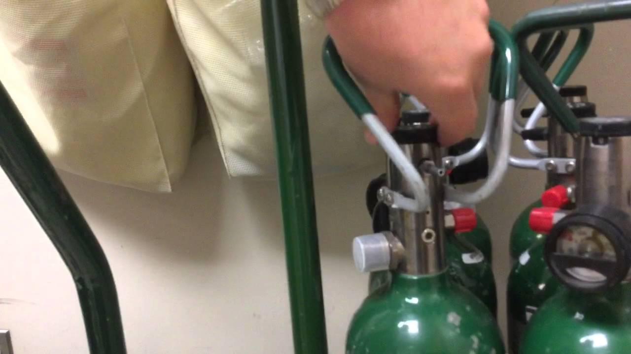 Oxygen Cylinder Safety & Storage