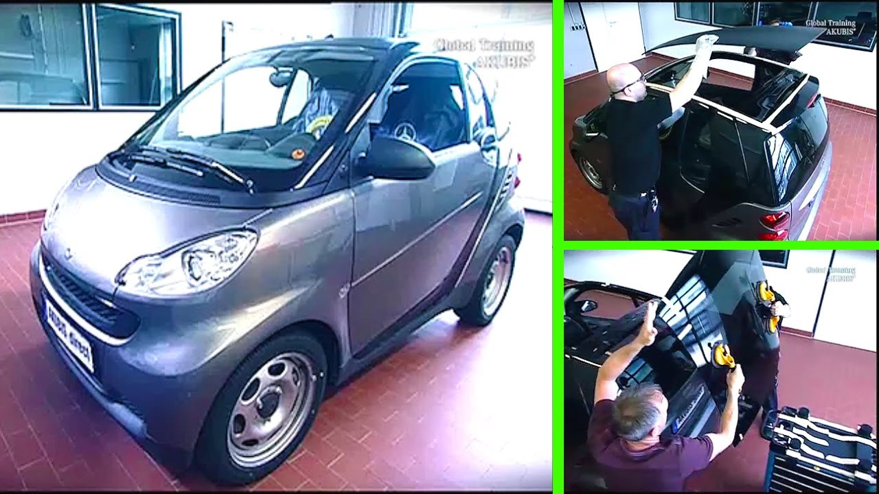 Smart Fortwo Bond Panoramic Roof