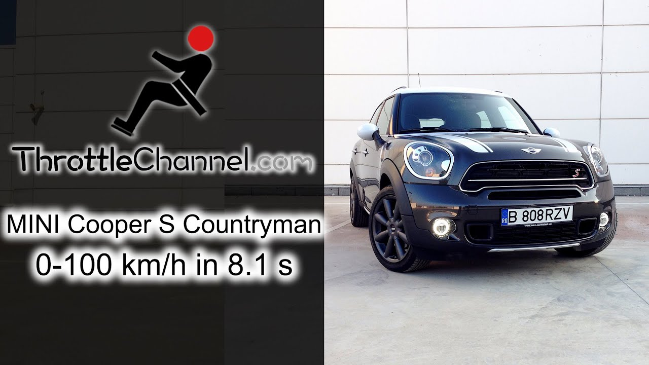 Mini Cooper S Countryman Acceleration Throttlechannelcom