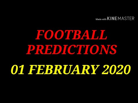 FOOTBALL PREDICTIONS (SOCCER BETTING TIPS) TODAY FOR WHO LOVE BIG ODDS 01/02/2020