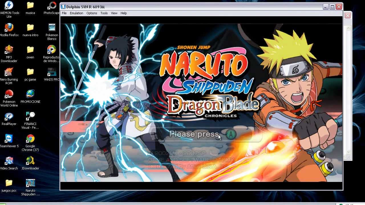 Naruto shippuden dragon blade chronicles para pc ingles youtube