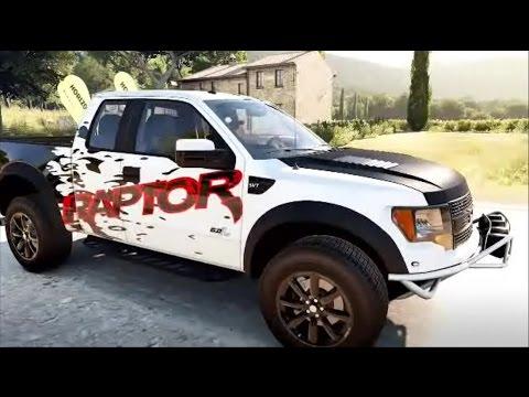 Ford F SVT Raptor Custom Graphics Forza Horizon Xbox One - Ford raptor decals