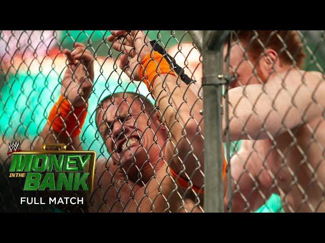 FULL MATCH - Sheamus vs. John Cena – WWE Title Steel Cage Match: WWE Money in the Bank 2010
