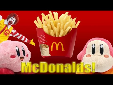J Moviedude  Kirby gets McDonalds!