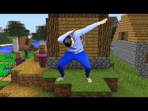 REALISTIC MINECRAFT - STEVE GOES VIRAL