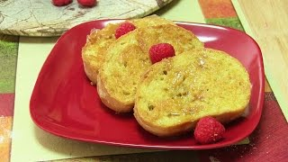 Eggless French Toast Video Recipe   Custard French Toast by Bhavna