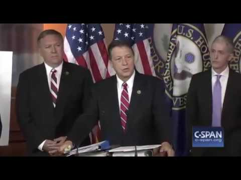 Trey Gowdy Benghazi Report FULL Press Conference 6/28/16 House Select Committee
