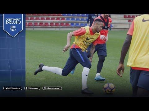 Training skills – A spectacular training match