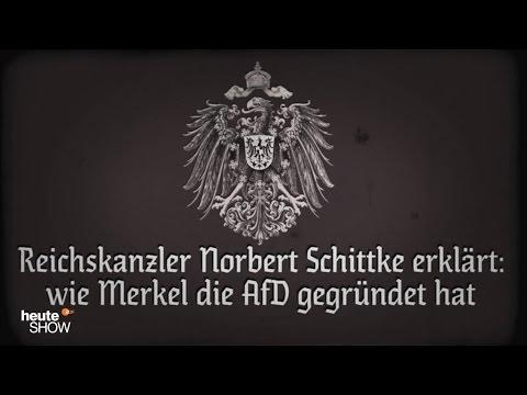 Die Wahrheit hinter der Alternative für Deutschland: Neues vom Reichskanzler   heute-show