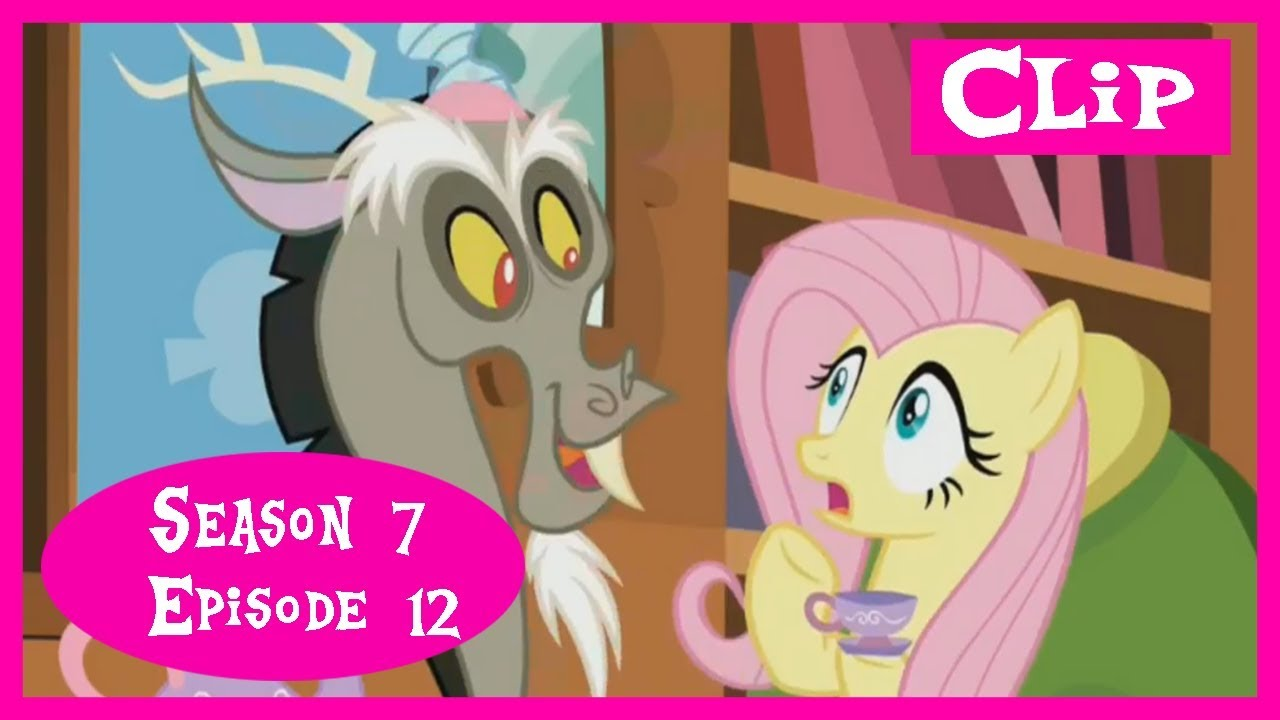 My Little Pony:FiM - Discord and Fluttershy Tea Party