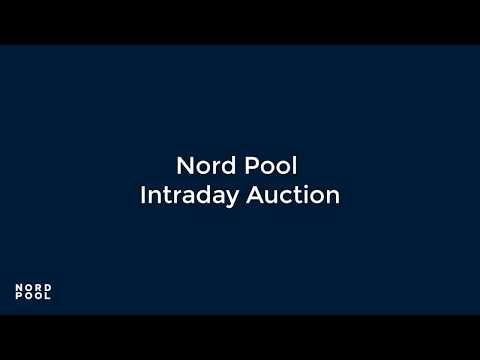 Nord Pool Intraday Auction