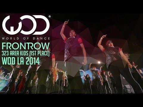 3-23 Area Kidz 1st Place | FRONTROW | World Of Dance #WODLA '14