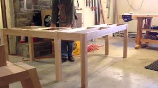 L-shaped Desk Design