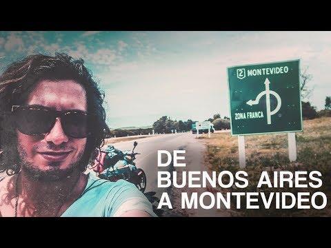De Bsas a Montevideo  [VIAJE POR SUDAMERICA EN MOTO PARTE 12]