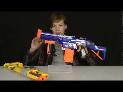 Nerf Recon vs Elite Retaliator Comparison - YouTube