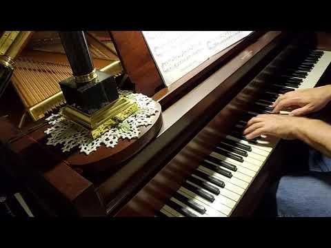 "Piano Solo ""Spirit Song."" 1909 Chickering 6'4"" Piano, Scale 123."