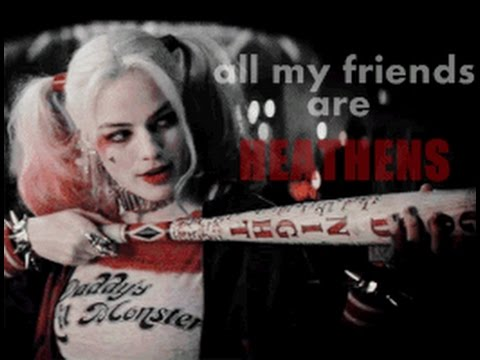 All My Friends Are Heathens Suicide Squad Meet The Bad Guys