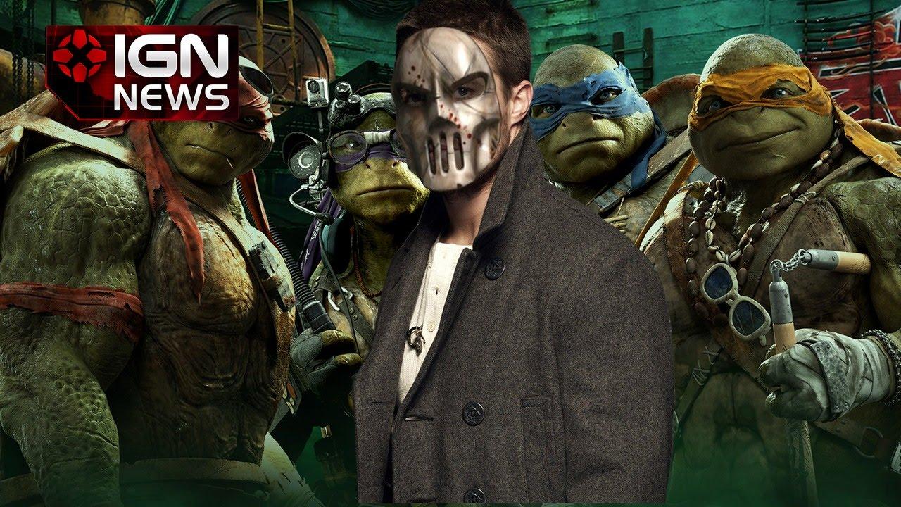 Arrow Star Cast In Ninja Turtles 2 as Casey Jones - IGN News - YouTube