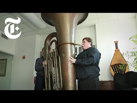 Playing a Titanic Tuba | The New York Times
