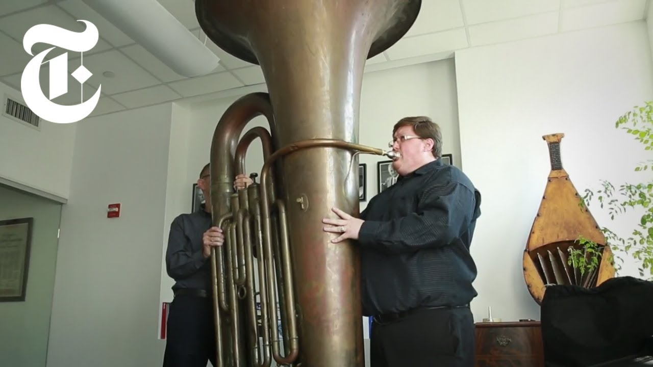 Playing A Titanic Tuba The New York Times Youtube