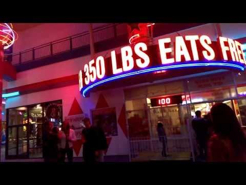 Downtown Las Vegas - Over 350 lbs eats free