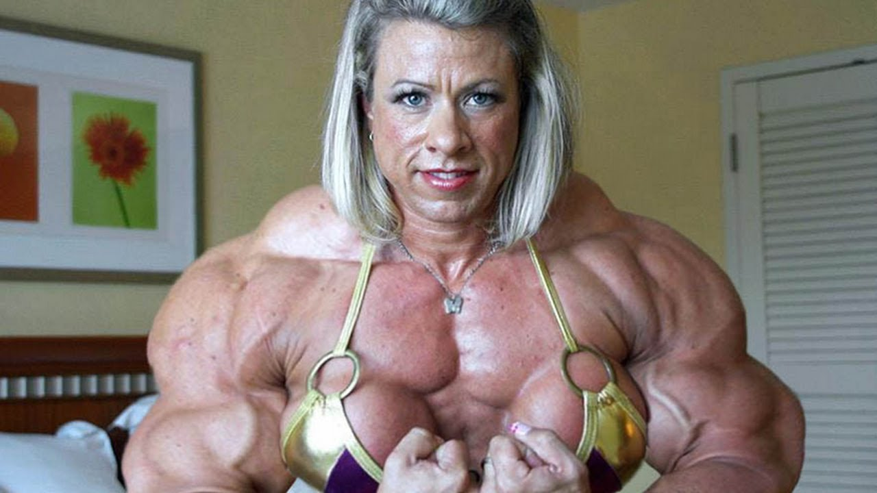 single female bodybuilder
