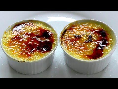 Crème Brûlée How to make simple tasty recipe - Perfect dessert
