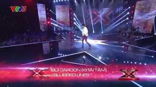 blurred lines - bui caroon khai tam - nhan to bi an  season 1 - vong tranh dau 2